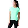 adidas Response Hardloopshirt korte mouwen Dames turquoise